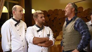 Der erste Battle der Kochprofis bei TV NOW