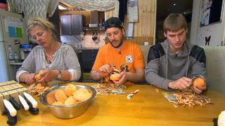 Experimentelle Küche bei TV NOW