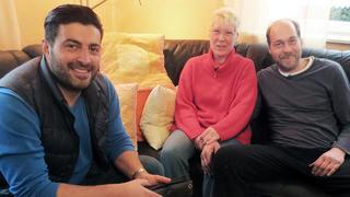 Jens-Peter und seine Ehefrau Astrid bei TV NOW