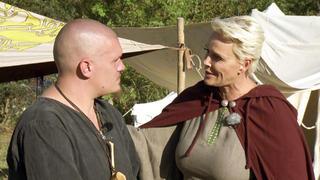 Mittelalterkoch Markus bekommt Besuch von Brigitte Nielsen bei TVNOW