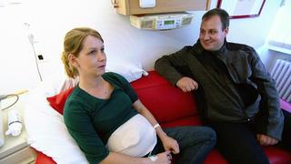 Julia und Dominik erwarten ihr erstes Kind