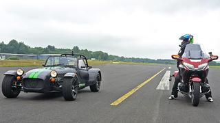 Auto gegen Motorrad - der Fahrspaß-Vergleich! bei TV NOW