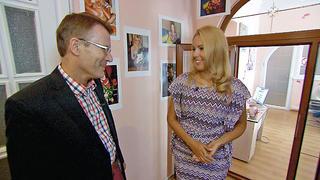 In Sankt Petersburg trifft Elvis auf Kristina.