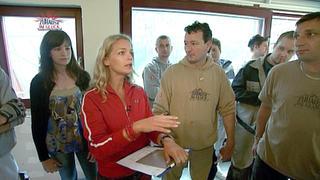 Eine junge Familie wird Opfer von Brandstiftung. bei TV NOW
