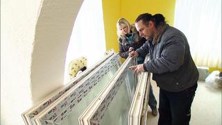 Bernd will im Wohnzimmer ein großes Terrarium bauen bei TV NOW