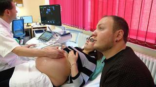 Im Klinikum Chemnitz erwarten Christin und Rico Zwillinge bei TVNOW