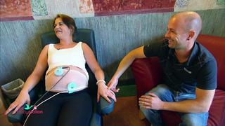 Janine und Patrick sorgen sich um ihr ungeborenes Baby