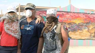 Die Reimanns beim 'Burning Man'