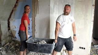 """Das """"Zuhause im Glück""""-Team hilft einer Familie in Not"""