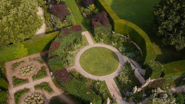 Die schönsten Gärten von oben