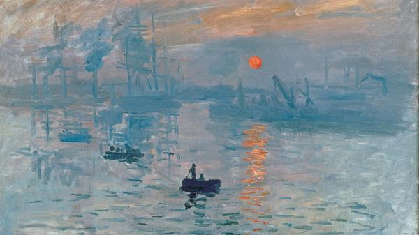 Claude Monets 'Impression, Sonnenaufgang'