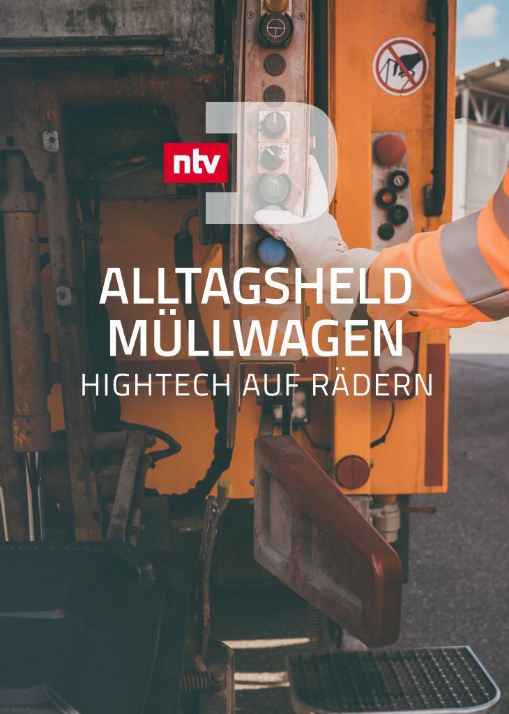 Alltagsheld Müllwagen - Hightech auf Rädern