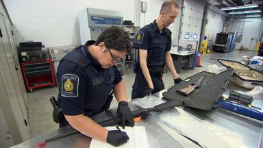 Border Patrol Canada - Einsatz An Der Grenze - Die Dvd-designer-droge