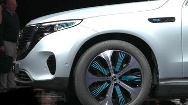 Auto Mobil - Thema U.a.:  E-auto Von Mercedes