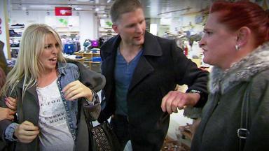 Verdachtsfälle - Hochschwangere Randaliert Im Einkaufszentrum