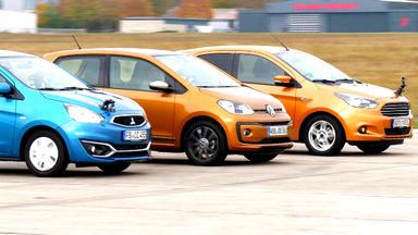 Auto Mobil - Thema U.a.: Kleinstwagen Im Vergleich