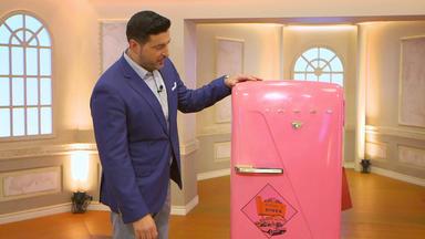 Die Superhändler - 4 Räume, 1 Deal - Kühlschrank \/ Porzellan \/ Spielautomat \/ Biedermeier Sofa