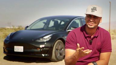 Grip - Das Motormagazin - Jp Checkt Tesla 3 I Det Sucht 450-euro-auto - Auktion Toffen - Neuwagen-drift