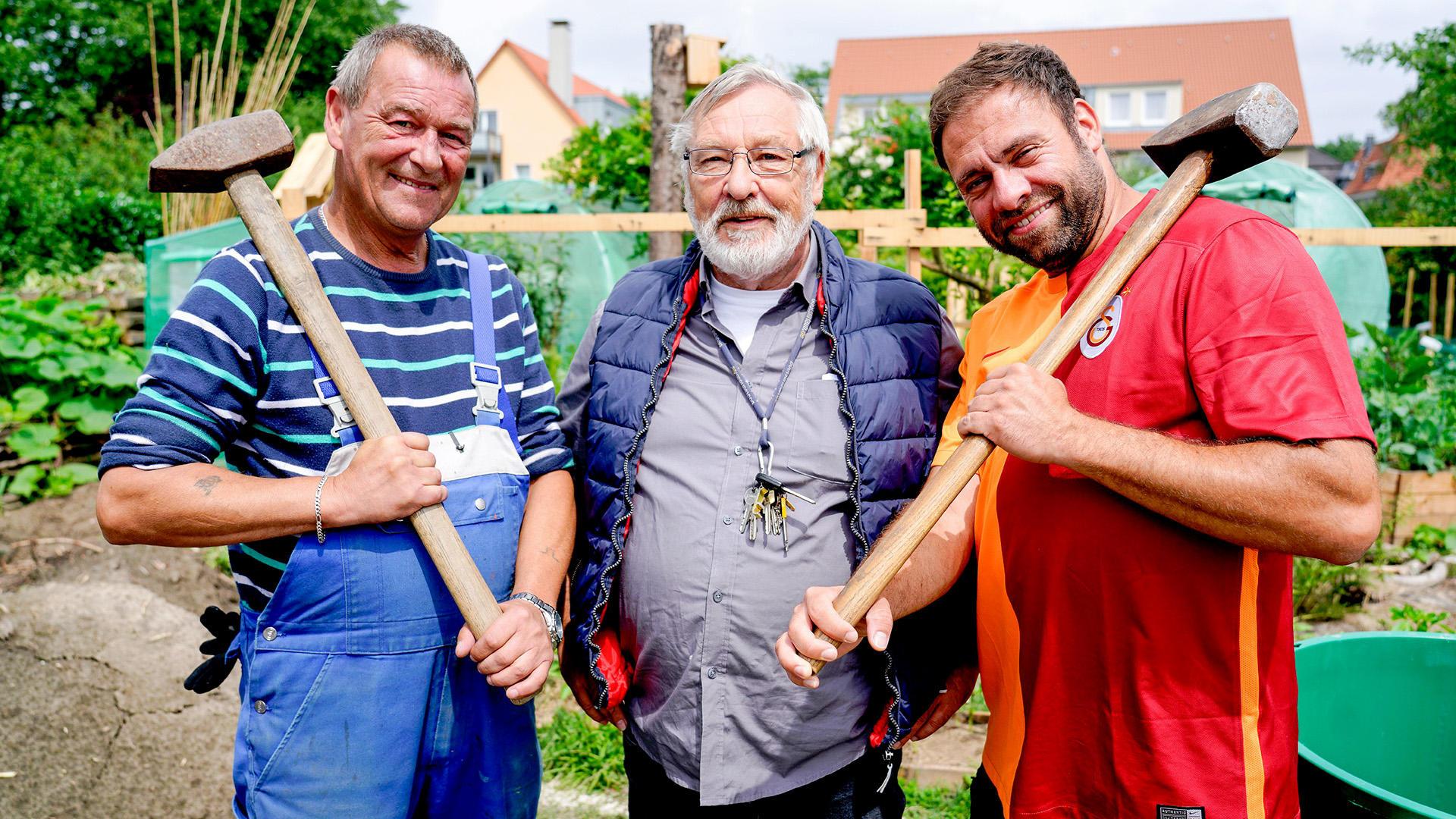Heute u.a. mit: Claus & seine Freund - Leons Laube   Folge 9