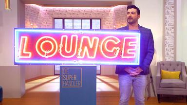 Die Superhändler - 4 Räume, 1 Deal - Lounge Neonreklame \/ Bistrostühle Kohn \/ Kaffeemühle \/ Armreif