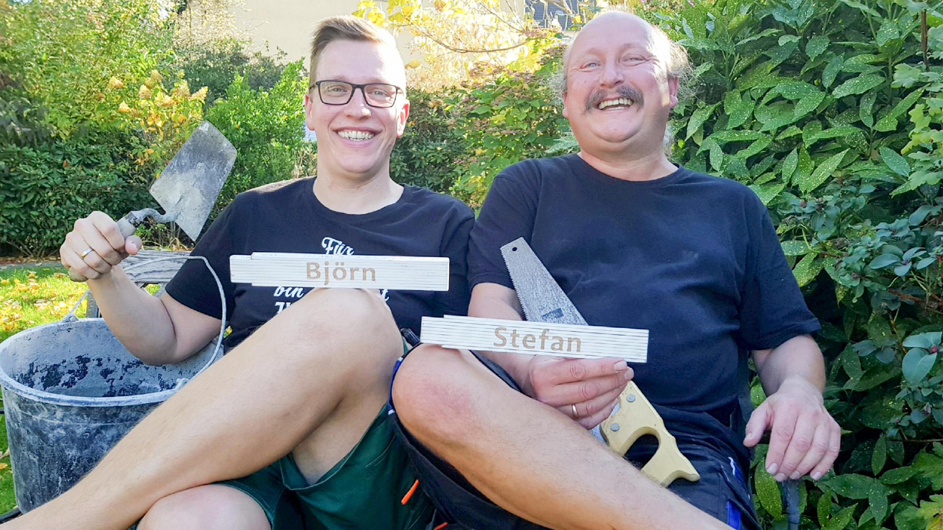 Heute u.a. mit: Stefan & Björn - Außen-Badewanne | Folge 13