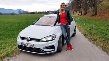 Grip - Das Motormagazin - Miriam Höller Testet Den Vw Golf R