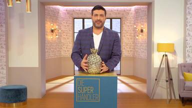 Die Superhändler - 4 Räume, 1 Deal - Ananaseiskübel \/ Fernrohr \/ Eileen Gray Stuhl \/ Marlboro Aufsteller