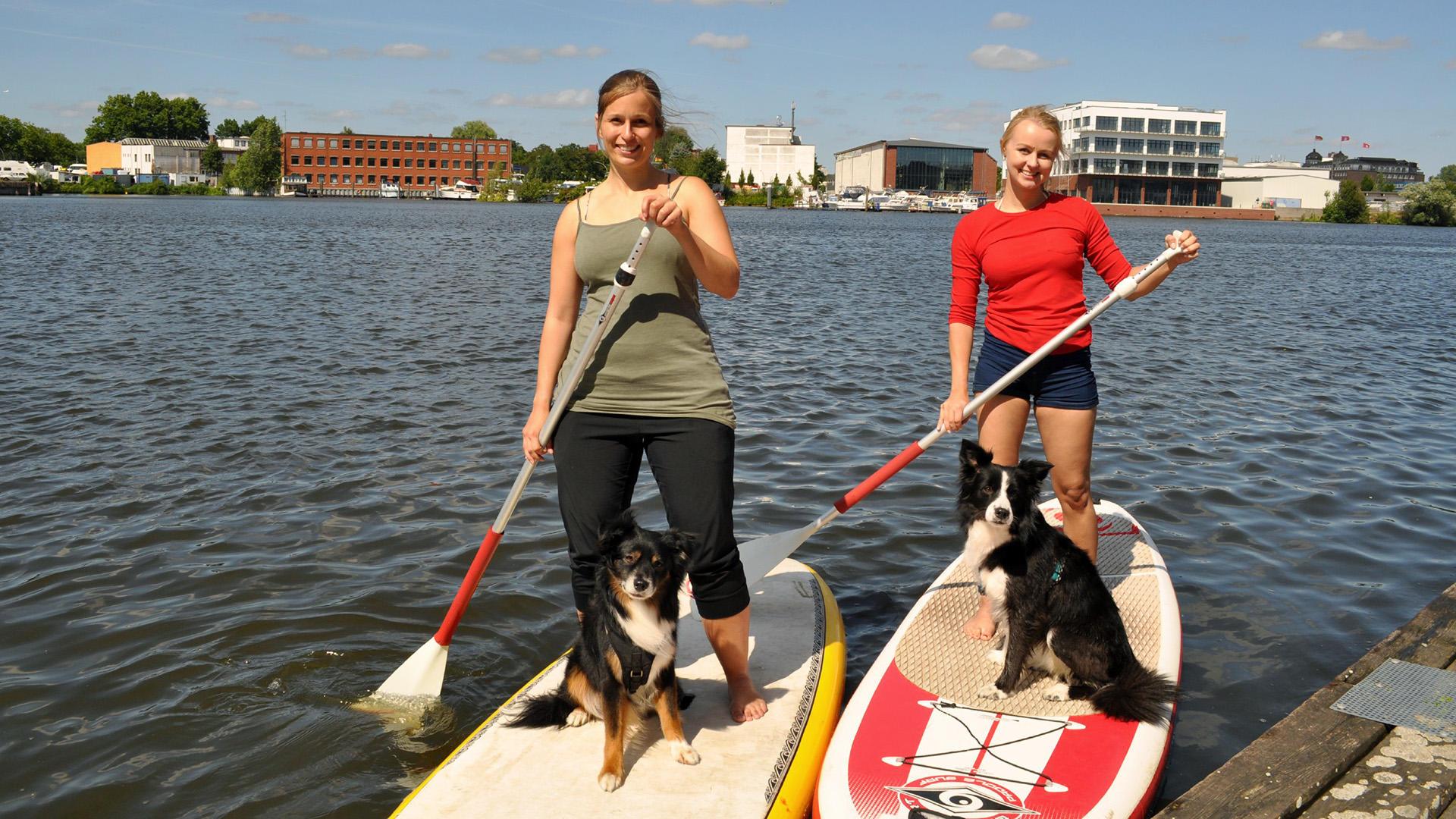 Thema heute u.a.: Stand UP Paddling mit Hund | Folge 29