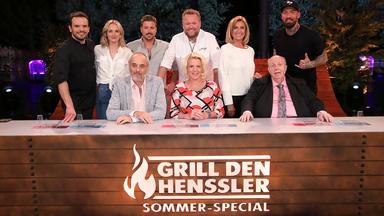 Grill Den Henssler - Sommer-special 1: Dagmar Wöhrl, Felix Von Jascheroff, Jan Leyk
