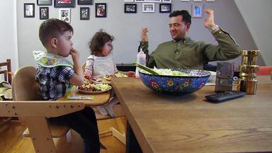 Mensch Papa! Väter Allein Zu Haus - Familie Nuri