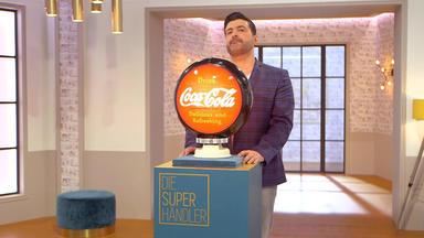Die Superhändler - 4 Räume, 1 Deal - Cola-reklame \/ Silberschale Und Kaviartöpfchen \/ Friseurstuhl \/ Majolika Vasen