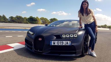 Grip - Das Motormagazin - Cyndie Allemann Lässt Den Bugatti Chiron Sport Von Der Kette