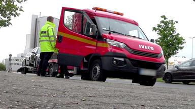 Bitte Folgen! Die Verkehrspolizei Im Einsatz - Heute U.a.: Ein Scheinbar überladener Lkw