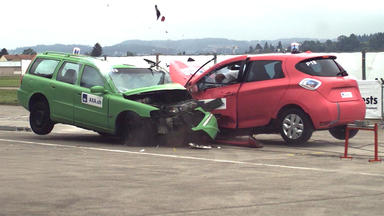 Auto Mobil - Thema Heute U.a.: E-auto Crashtest