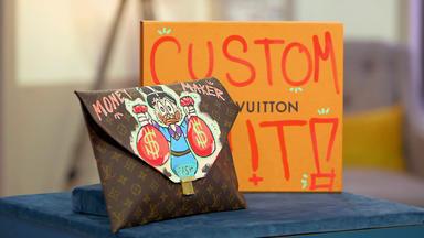 Die Superhändler - 4 Räume, 1 Deal - Kunst Auf Luis Vuitton Tasche \/ Doria Eisglaslampen \/ Briefmarkenautomat \/ Silberschale & Servietten