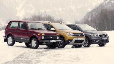 Auto Mobil - Thema Heute U.a.: Kleine Allradler Im Schnee