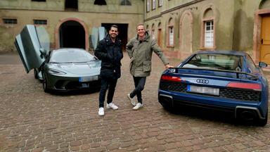 Grip - Das Motormagazin - Duell Der Supersportler: Mclaren Gt Gegen Audi R8 V10.