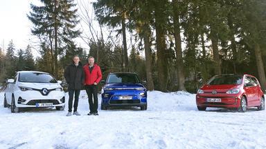 Grip - Das Motormagazin - Wie Schlagen Sich E-autos Im Schnee?