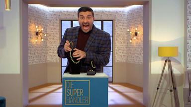Die Superhändler - 4 Räume, 1 Deal - Pepsi Kühlbox \/ Streichholzautomat \/ Theodor Fahrner Schmuck \/ Figur Affe