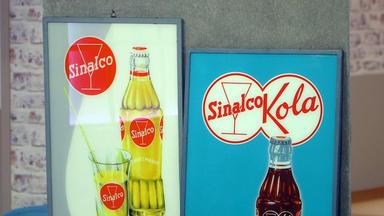 Die Superhändler - 4 Räume, 1 Deal - Sinalco Schilder \/ 4 Sessel \/ Schreibtischlampe \/ Schreibtisch