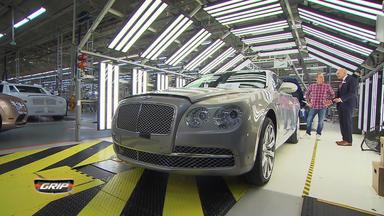 Grip - Das Motormagazin - Heilige Hallen Bentley