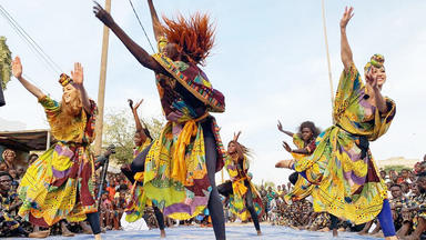Llambis Tanzduell - Senegal