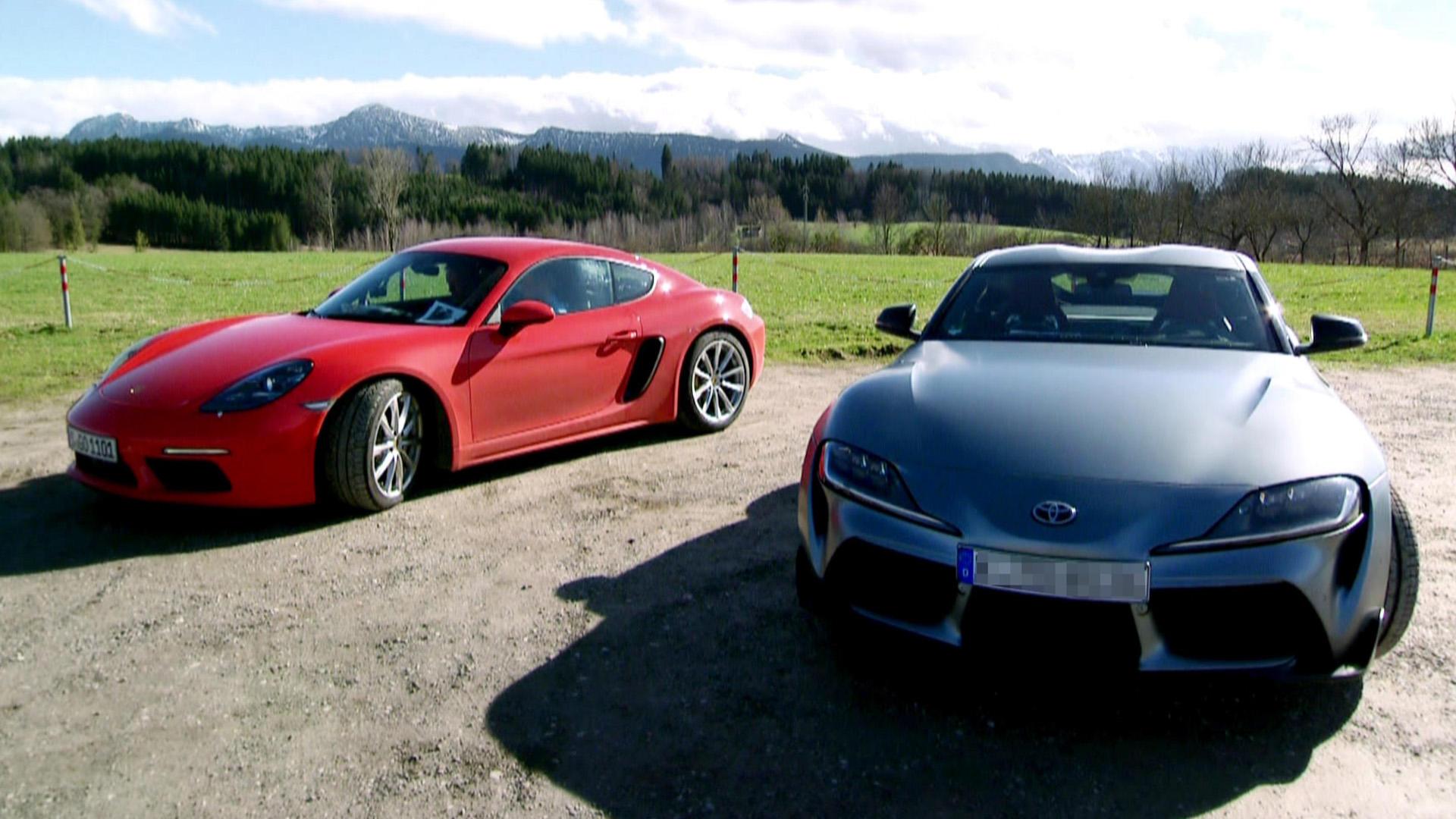 Porsche 718 Cayman vs Toyota Supra | Folge 510
