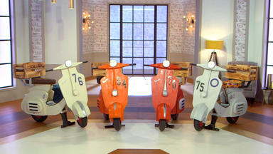Die Superhändler - 4 Räume, 1 Deal - Holz-roller \/ Likörset Lauscha \/ Ritterrüstung \/ Windsor Stühle
