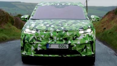 Auto Mobil - Thema U. A.: Fahrbericht Skoda Enyaq Covered Drive