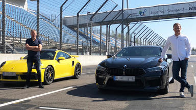 Grip - Das Motormagazin - Porsche 911 Turbo S Vs. Bmw M8 Competition