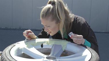 Auto Mobil - Thema U. A.: Felgen-reparatur Mit Anni