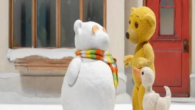 Benedikt, Der Teddybär - Ein Schneemonster