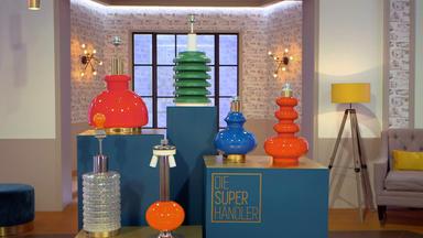 Die Superhändler - 4 Räume, 1 Deal - Lampenfuß Konvolut \/ Moroso Stuhl \/ Teeservice Bhl \/ Kondomautomat