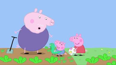 Peppa Pig - Gartenarbeit